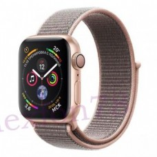 Apple Watch Series 4 40mm GPS Gold Aluminum Case with Pink Sand Sport Loop