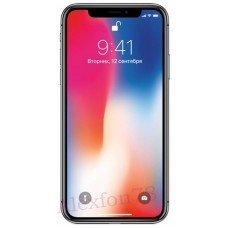 Apple iPhone X Black цена